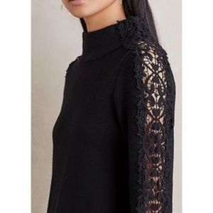 ANTHROPOLOGIE laced sweater
